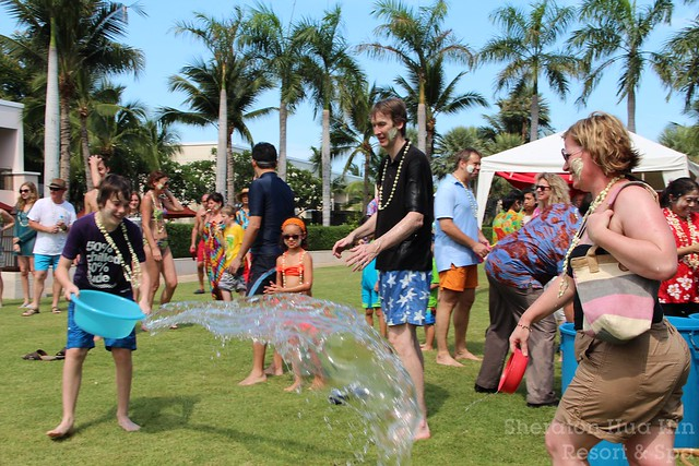 SONGKRAN 2012 @ Sheraton Hua Hin Resort & Spa