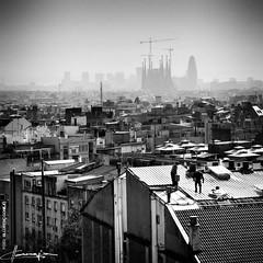 Barcelona (Lloren Conejo (Llorco)) Tags: barcelona espaa spain capital ciudad catalunya silueta sagradafamilia tejados barcelone agbar urbe tejas frum pizarra espanya poblacin gras metrpoli cataluna llorco nieblamobreros