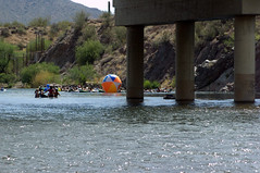 (ONE/MILLION) Tags: arizona hot beach water phoenix weather river fun outdoors photo google interesting colorful flickr image tubes salt balls images capture tubing find floats onemillion my williestark