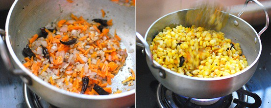 How to make sweet corn sundal 1