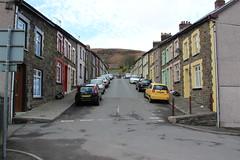"Elm Street, the home of ""Stella"" (Ruth Jones) (ec1jack) Tags: uk stella wales spring britain april ferndale elmstreet ruthjones kierankelly tvlocations ec1jack canoneos600d rebelt3i kissx5 pontyberry"