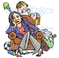 mother_lady_tired_overworked_housecleaning_clipart_watermark (karin-b) Tags: illustration children mother tired clipart frazzled overworked housecleaning messyhouse needhelp charactercompany karinboris