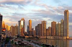 Panama City, Panama (LAXFlyer) Tags: city sunset high punta panama pacifica panamacity rises highrises puntapacifica