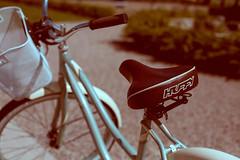 Huffy and Puff (TerryJohnston) Tags: bike bicycle mi vintage word dof bokeh michigan letters font douglas saugatuck huffy amazingmich canoneos5dmarkiii 5dmarkiii