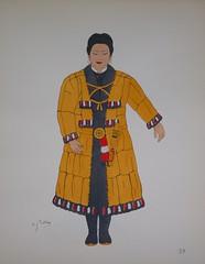 Emile Gallois - LE COSTUME JAPONAIS ET INDONESIEN (Renato Morselli) Tags: costumes paris art japan costume giappone disegno 1930 costumi henrilaurens emilegallois ileskouriles