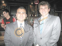 Edgar Salinas y Matt Foxhall.