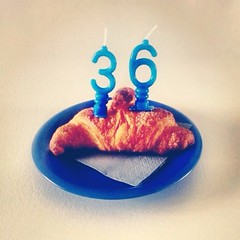 Mon anniversaire (ijungle) Tags: birthday family urban food color breakfast vintage square photography photo photos squareformat croissant compleanno anniversaire petit colazione djeuner iphone iphoneography instagramapp