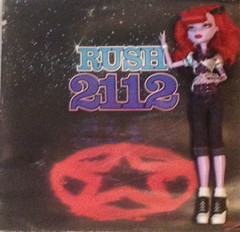 Rush 212 album and Opperetta (cpklove123) Tags: rush record rockandroll monsterhigh opretta
