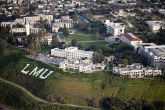 Campus Aerials 2010 (LMU Alumni Association) Tags: above letters xavier overhead bluff overview lmu campusaerials2010