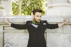 The Cross (PHOTODRAMA *) Tags: madrid man colour art fashion photo spain outdoor retiro photodrama