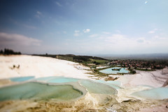Pamukkale. (Crusade.) Tags: travel mountain nature canon turkey landscape greece legacy tse pamukkale bergama 5d2 tse17