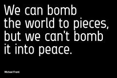 we can't bomb (Artyvee) Tags: lyrics quote bomb michaelfranti