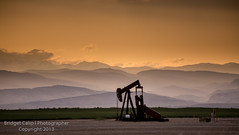 Pumpjack With Contours of the Rocky Mountains (Bridget Calip) Tags: 2013 agriculture americasheartland bridgetcalip coal colorado day fossilfuel frontrange gasoline geology industry lever manmadeobject methane naturalgas northamerica oil oilindustry oilpump oilrig outdoors overcast prairie pumpjack refueling rockymountains rollinglandscape ruralscene scenics sky steel summer vertical weldcounty beauty cloud contours nature erie unitedstates