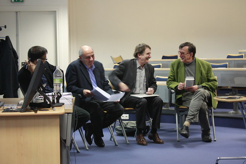 Atelier EME Énonciation politique / IME Workshop on Political Enunciations : Yves Citton, Jean-Louis Missika, Denis Bertrand et Bruno Latour