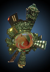 atlanta skyline mini planet (DigiDreamGrafix.com) Tags: street city atlanta urban usa skyline architecture night america skyscraper ga buildings georgia twilight highway scenery downtown view unitedstates towers scenic aerialview officebuildings landmark mini scene financialdistrict midtown southern planet metropolis bluehour metropolitan centralbusinessdistrict urbanscene businessdistrict traveldestination