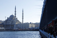 From Galata bridge (Gregor  Samsa) Tags: ocean city bridge sea water turkey town afternoon walk istanbul galata goldenhorn galatabridge