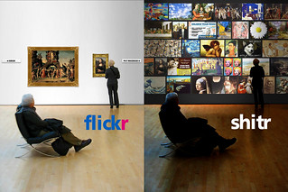 flickr: old vs new