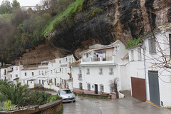 Setinel de Bodegas (WildVanilla (Rob)) Tags: houses cliff buildings andaluca spain village andalusia cliffside setineldebodegas