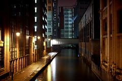 Channel, Manchester (_Franck Michel_) Tags: city water night canal eau chanel nuit ville mygearandme egicf13