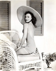 Paulette Goddard (sweetvintagegal) Tags: summer beach vintage seaside swimsuit paulettegoddard