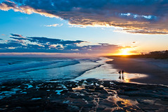 Sunset Surfers () Tags: longexposure landscape australia 2011 crowdyhead kimmosavolainenphotography