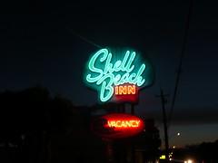 SHELL BEACH INN SHELL BEACH CA. (ussiwojima) Tags: california sign advertising inn neon motel shellbeach shellbeachinn