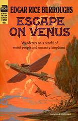 Escape on Venus (McClaverty) Tags: illustration paperback sciencefiction pulp edgarriceburroughs roykrenkeljr