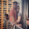 Boys on a Brooklyn Balcony. Such goofballs @bklynscott @tjimenez @davich0 (plaintruthiness) Tags: nyc newyorkcity gay friends men guy brooklyn square couple guys squareformat goofballs hotguys cuteguys gaycouple gayguys hotmale photobomb iphoneography instagramapp uploaded:by=instagram foursquare:venue=4fa46355e4b05ddd6656ee24