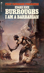 I Am a Barbarian (McClaverty) Tags: illustration paperback pulp edgarriceburroughs borisvallejo historicalfiction
