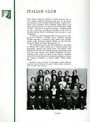 Italian Club (Hunter College Archives) Tags: students club 1936 photography italian yearbook clubs hunter activities huntercollege studentorganizations organizations studentactivities italianclub studentclubs wistarion studentlifestyles thewistarion