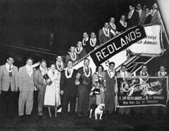 Historic (University of Redlands Bulldogs) Tags: blackandwhite vintage football bulldog mascot deacon pineapplebowl blackandwhitebulldogdeaconfootballmascotpineapplebowlvintage