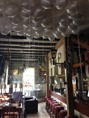 Heliumballonnen Ballonnenplafond Wapen van Poortugaal