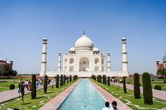 Taj Mahal (Postcard II)