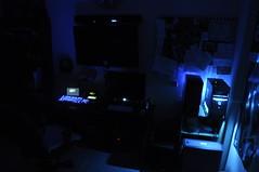 August 2013 Setup (Night Shot) (JonJCP) Tags: