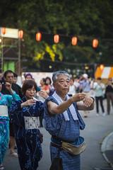 25 Bon Odori (Einharch) Tags: bon summer woman girl festival japan children dance women child drum yukata  taiko tradition  matsuri hibiya odori marunouchi ondo bonodori  hibiyapark                hibiyakouen   daibonodori  marunouchiondo