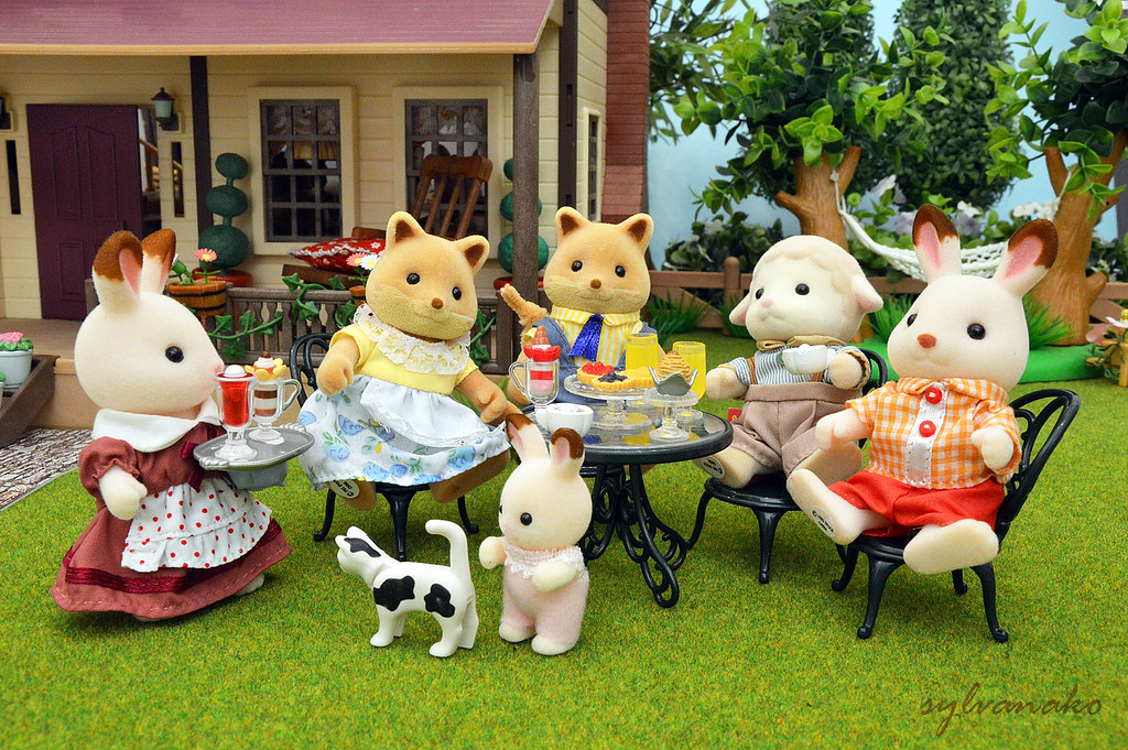 The world 39 s best photos of calicocritters and food - Sylvanian families cuisine ...