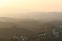 (ikaugust_t93) Tags: sunset nature japan canon landscape eos 7d  nara   canon7d