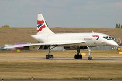 British Airways | Concorde | G-BOAC | Birmingham International (Dennis HKG) Tags: plane canon airplane airport birmingham aircraft 10d concorde ba britishairways 70200 baw planespotting oneworld speedbird bhx gboac egbb