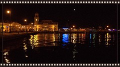 old town at night (be there...) Tags: city light moon color water venus lamps rathaus reflexions nihght