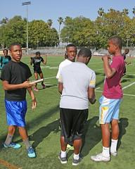 D104375A (RobHelfman) Tags: sports losangeles track highschool practice crenshaw marquisfoust dajiondukes cleavonbronner