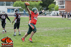 LNFA '14-15 - PLAYOFFS - Bisons 30 Jabatos 7