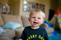 :-) (telks) Tags: boy baby cute love smile happy little teeth joy smith kansascity grin giggles