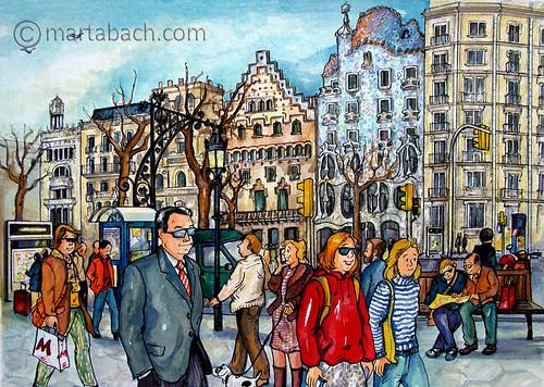 marta_bach-Passeig Gracia_p