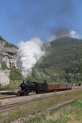 Primolano III (Kees Wielemaker) Tags: italien italy italia steam trento locomotive carrozza fs padova italië dampflokomotive ferrovia locomotiva fondazione vapore gr740 primolano centoporte gr740293
