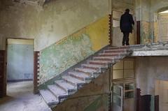 Sanatorium G. (elisachris) Tags: abandoned brandenburg ricohgr verlassen eastgermany urbex verfall heilstätte sanatoriumg heilstättengrabowsee