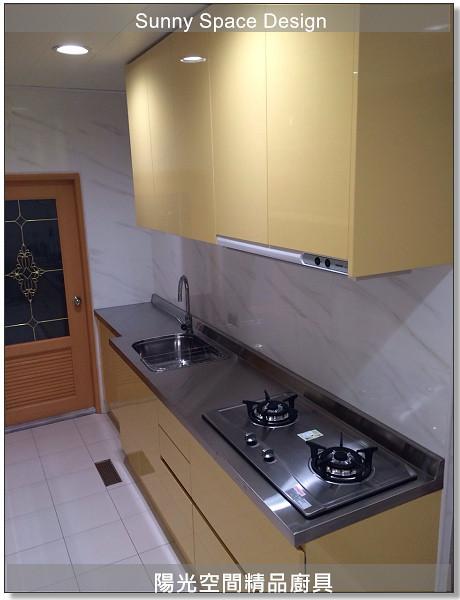 廚具│廚具大王│陽光廚具-作品252-一字型廚具-陽光空間精品廚具