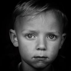 Dreaming of..... (TrishaR16) Tags: boy white black eyes ben dreaming