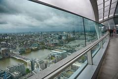 The Thames under clouds   *Explore* (sarah_presh) Tags: birthday london outside outdoors view rainy april riverthames hdr skygarden walkietalkie fenchurchstreet nikond7100