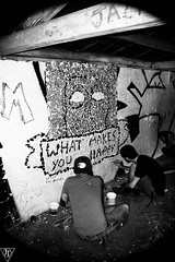 _MG_3955 (jesse_tomasello) Tags: friends blackandwhite art mosaic shed vandals whatmakesyouhappy shedon72