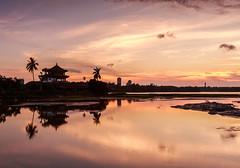 (sic Chiu) Tags: sunset kaohsiung    6d   ef1635mm